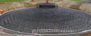 Massige Bauteile Windkraftanlage
