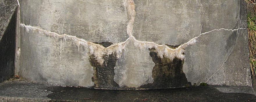 Wasserschäden Beton